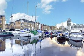Redecorated one bed on the docks! Picturesque. Viewings NOW. SE16
