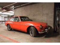 1982 MGB GT - Chrome Bumpers, Overdrive, Restoration
