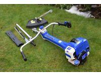 hyundai petrol 2 stroke brush cutter and hedge trimmer hybc508oa