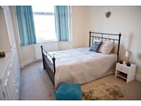 An Enormous DOUBLE Bedroom with a Huge Built-IN Wardrobe is available in a friendly quite houseshare