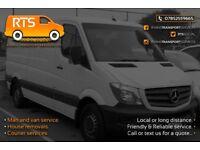 Man and van services Wellingborough, Northamptonshire