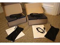 Bang & Olufsen 3d Shutter Glasses Electronic | Black x 2 PAIRS