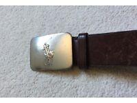"""Ralph Lauren Belt - 45"""" Long - BROWN - 100% Genuine"""