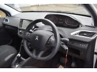 PEUGEOT 208 1.4 E-HDI ACTIVE Auto 5 Door Hatchback (white) 2015