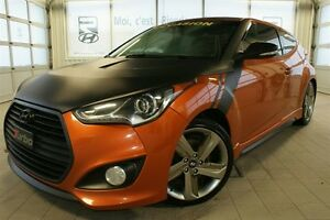 2013 Hyundai Veloster Turbo + CUIR + TOIT PANORAMIQUE