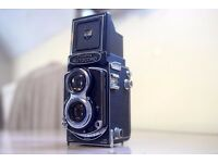 Minolta Autocord TLR Camera Rokkor f3.5 lens - fully functional