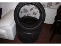 Dunlop 20 inch part worn tyres for sale
