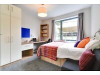 STUDENT ROOM TO RENT IN LONDON, CLASSIC STUDIO WITH DOUBLE BED, FULLY EQUIPPED PRIVATE KITCHENETTE