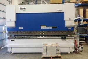 Press brake 220 tons x 13.4' (4100mm) - Debate of 10,000$ ! Canada Preview