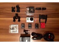 GoPro Hero 3 Silver - EXCELLENT CONDITION - Full Frame - 1080p HD