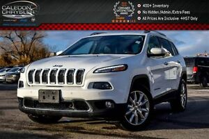 2016 Jeep Cherokee Limited|4x4|Navi|Dual Pane Sunroof|Safety Tac
