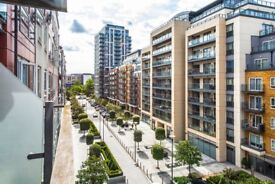 A well presented two bedroom, two bathroom flat with private balcony