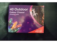 Christmas outdoor/indoor colour lights new