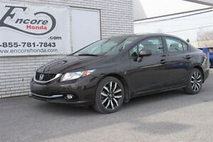 2013 Honda Civic TOURING*AUTOMATIQUE*GPS*NAVIGATION*CUIR*MAGS*TO