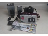 Canon 7D Kit with 2 Canon lenses, manuals, boxed, MINT only 4,800 shutter count ULTRA LOW
