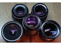 Carl Zeiss prime set