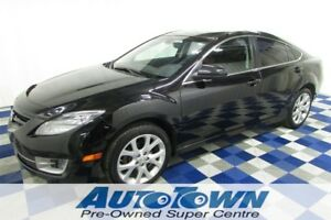 2010 Mazda MAZDA6 GT/LEATHER/HTD SEATS/SUNROOF