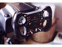 Logitech G27 + SRW-S1 F1 Formula One Wheel Rim With Stand!