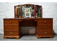 Stag richmond dressing table (DELIVERY AVAILABLE)