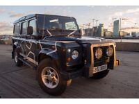 Land Rover Defender 110 TD5 CSW 9 Seats