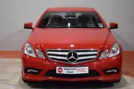 MERCEDES-BENZ E CLASS E350 CDI BLUEEFFICIENCY SPORT 3 Door 3.0 AUTO 231 (red) 2010