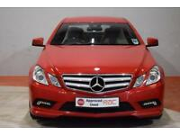 MERCEDES-BENZ E CLASS E350 CDI BLUEEFFICIENCY SPORT 3 Door 3.0 AUTO 231 BHP (red) 2010
