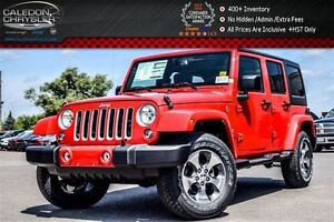 2016 Jeep WRANGLER UNLIMITED NEW Car|Sahara|4x4|Dual Top|Navi|Bl