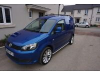 VW Caddy C20 Trendline 1.6 TDI LOW 30K MILES! No VAT