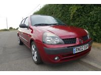 Renault Clio 1.4 16v Automatic Good condition and low mileage