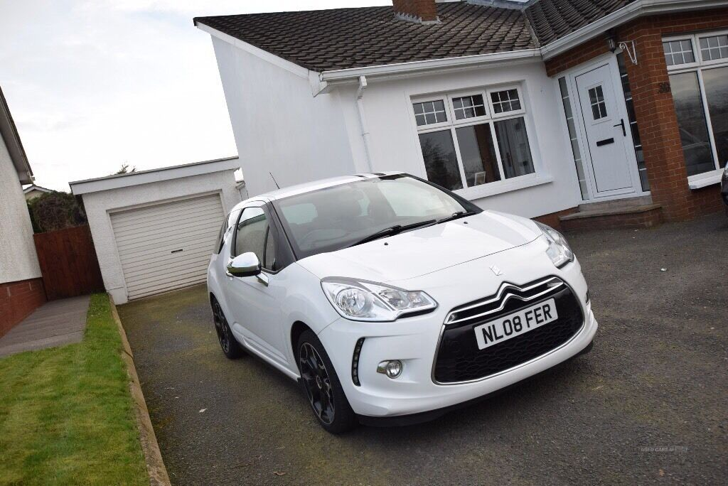 citroen ds3 black white edition hdi 90 in cookstown county tyrone gumtree. Black Bedroom Furniture Sets. Home Design Ideas