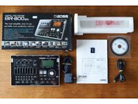 BOSS BR-800 4 track digital recorder