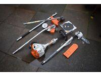 STIHL KM 56 RC combi tools kit 2014