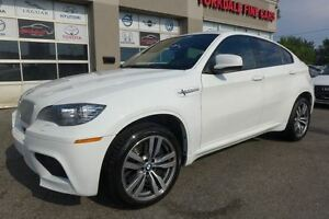 2010 BMW X6 M Navigation. Rare White On Red