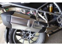 BMW R1200 GS LC Standard Exhaust Can in excellent unmarked condition