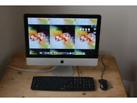Apple iMac Desktop 21.5inch LED 16:9 widescreen 8GB 500GB