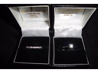 Platinum IGI Certified Diamond Solitaire Engagement Ring & Diamond Set Full Hoop Wedding Band / Ring