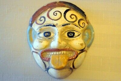 Ancient Greek Theatrical Mask