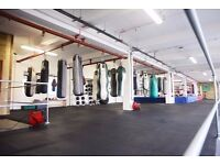 White Collar/Sparring Boxing Classes in Central London at Rooney's Boxing Gym