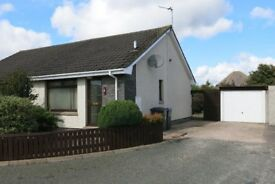 To Rent 1 bedroom, semi-detached and fully furnished bungalow in a quiet area of Inverurie
