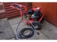 CLARKE PLS195 petrol driven pressure washer on tap needed