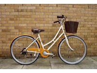 Retro Ladies Town Bike, Dawes Duchess, 17 Inch Frame. Includes Kryptonite D-Lock