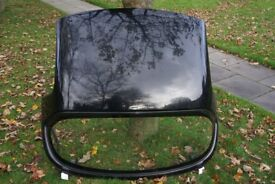 Genuine Mazda MX 5 Mk1 & 2 heated hard top roof for sale. Fully lined. Black.