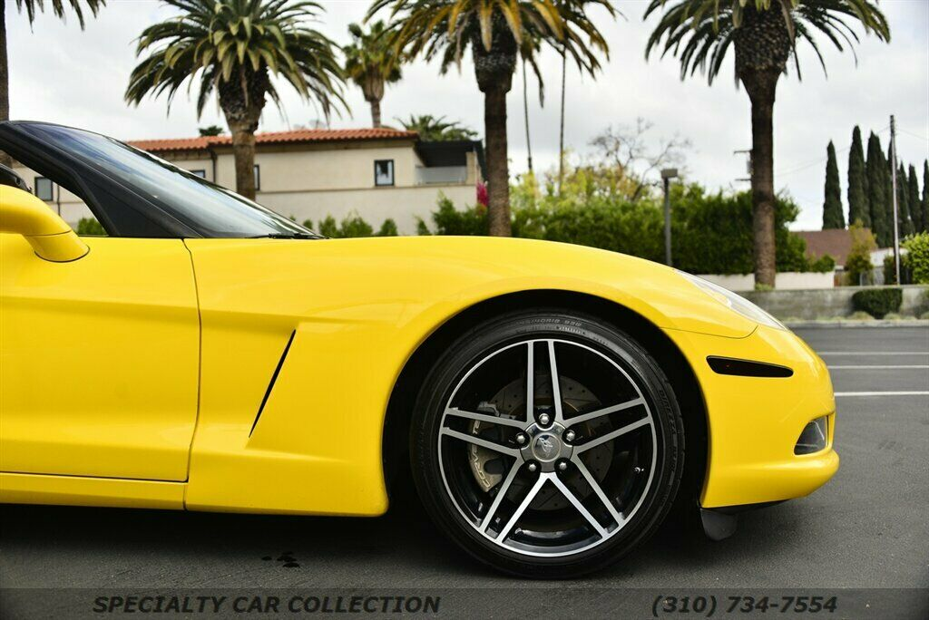 2006 Yellow Chevrolet Corvette  3LT | C6 Corvette Photo 5