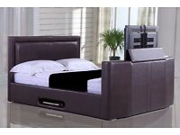 TV BEDS - BRAND NEW - DELIVERED - SALE NOW ON ** FREE UK DELIVERY ** DOUBLE/KING SIZE
