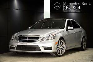 2012 Mercedes-Benz E-Class E63 AMG, Certifié, Pneus neuf
