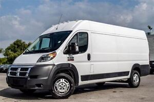 2016 Ram ProMaster 3500 3500 HIGH Roof|Backup Cam|Bluetooth|Pwr