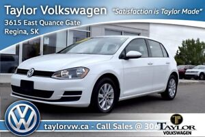 2017 Volkswagen Golf 5-Dr 1.8T Trendline 6sp at w/Tip Bluetooth