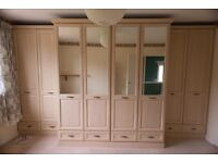 large fitted wardrobe