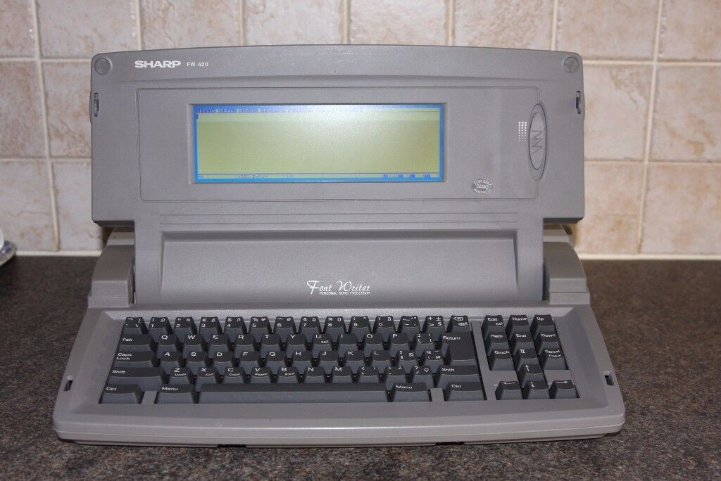 SHARP FW 620 FONT WRITER WORD PROCESSOR