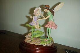 Flower Fairy Figurine sweet pea